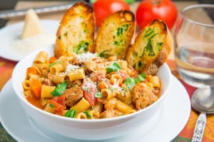 Pasta e Fagioli Soup (Italian Bean and Pasta Soup) 500 7470