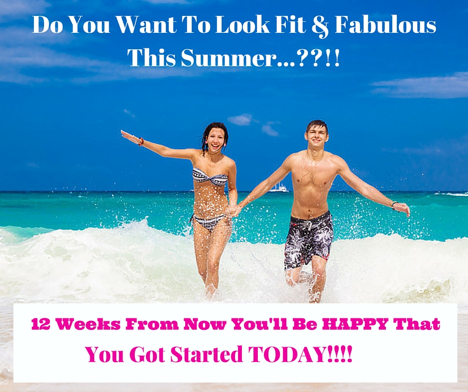 Look fit & fab 12 weeks from now