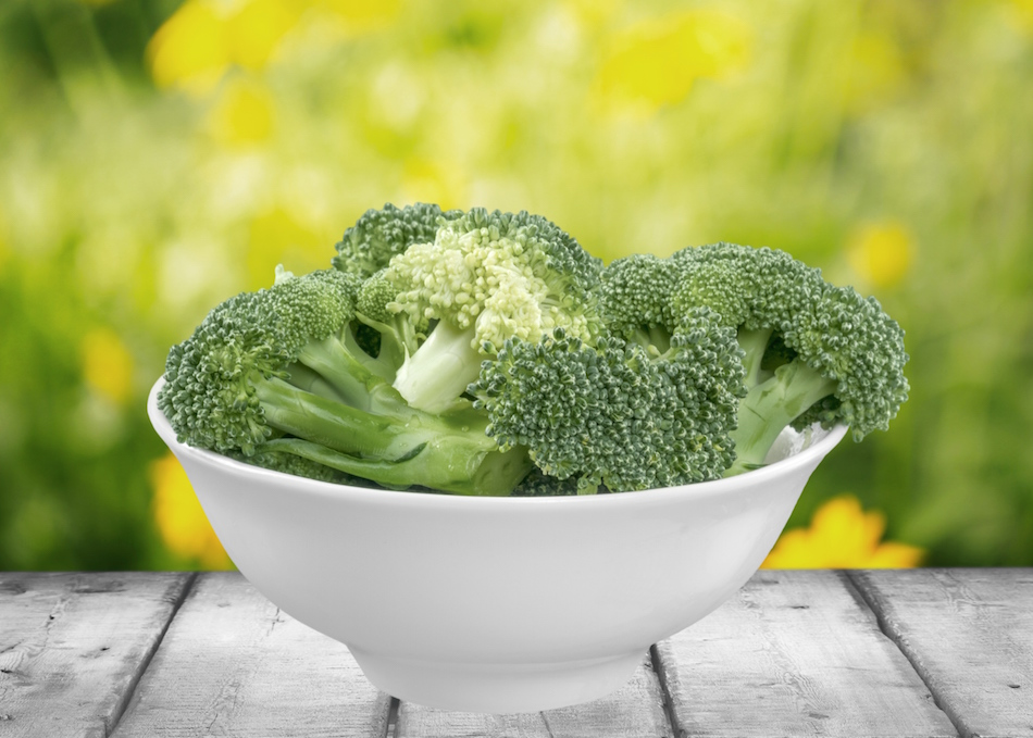 Broccoli, Steamed, Vegetable.