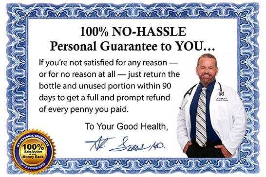 Dr Sears' Guarantee