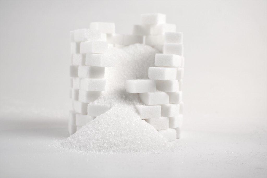sugar cause aging