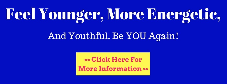 Feel younger and more energetic