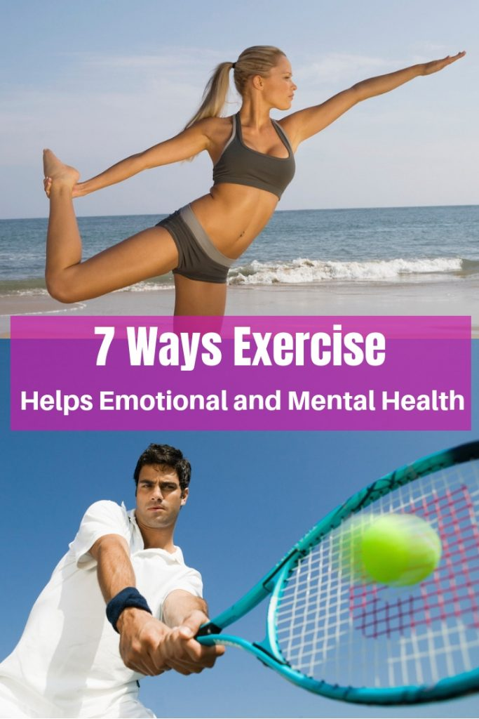 Exercise Helps Emotional and Mental Health