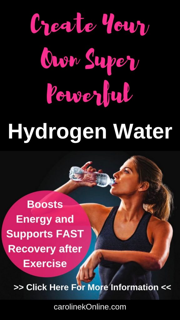 Energy Boosting Hydrogen Water