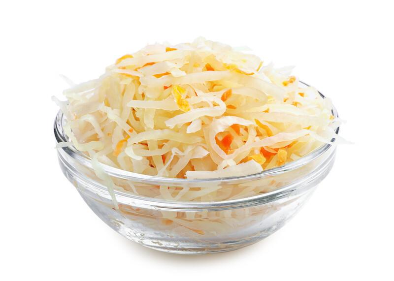 Sauerkraut for gut health